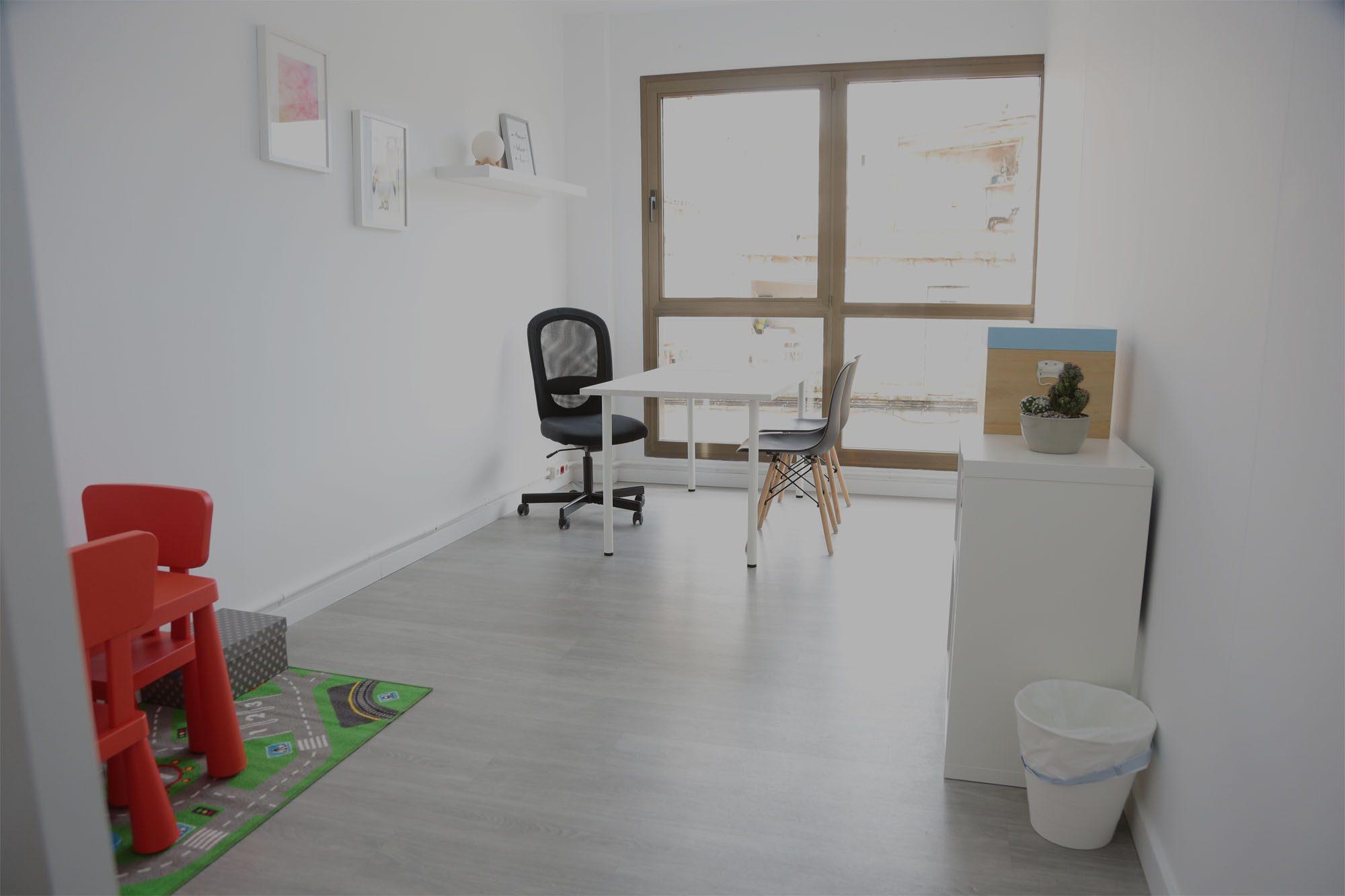 Sala de el centro Ylenia Regales Psicología